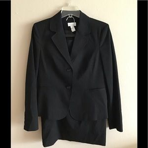 Charter Club 2pc Pin-Striped Business Suit, 10